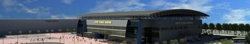 Kolejne rozmowy w sprawie hali sportowej - zobacz wizualizacje Vive Targi Arena