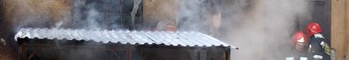 kielce wiadomości Pożar na Krakowskiej. Nie żyje mężczyzna