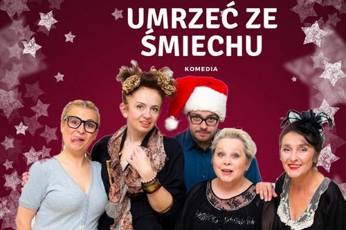 kielce kultura Komediowe Mikołajki w Teatrze TeTaTeT