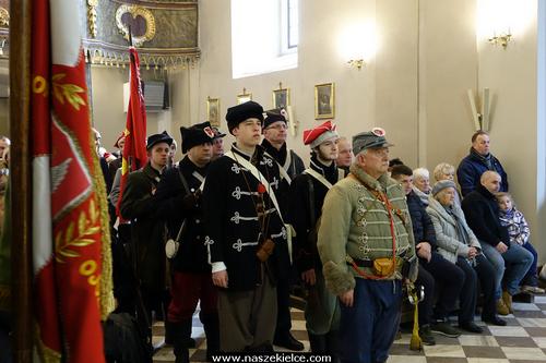 kielce wiadomości Kielczanie uczcili pamięć powstańców styczniowych (ZDJĘCIA)