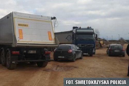 kielce wiadomości Policjanci zabezpieczyli 55 ton niebezpiecznych odpadów