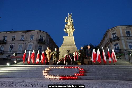 kielce wiadomości Kielczanie uczcili rocznicę śmierci Józefa Piłsudskiego (ZDJĘCIA,WIDEO)