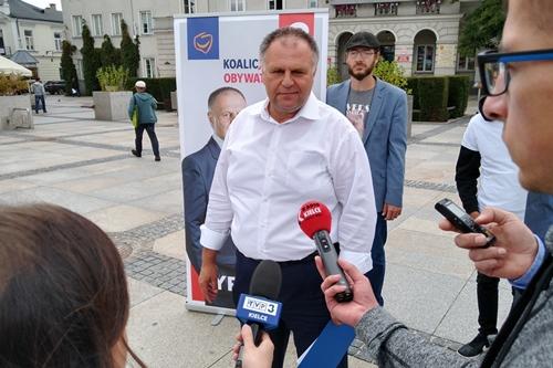 kielce wiadomości Adam Cyrański zaprezentował pomysły na rozwój województwa