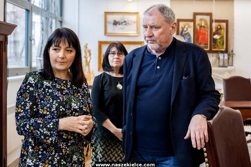 kielce wiadomości Andrzej Grabowski odcisnął dłoń w kieleckim Plastyku (ZDJĘCIA)