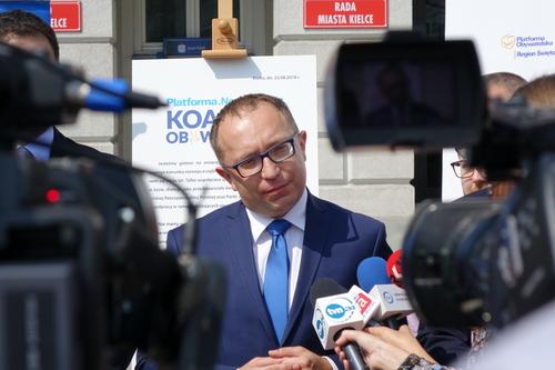 kielce wiadomości Poseł Artur Gierada obiecuje przywrócić blask Zalewu Kieleckiego i Klubu Tęcza (WIDEO)