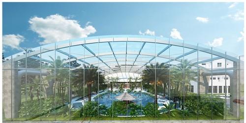 kielce wiadomości W Kielcach powstają tropikalne baseny. To będzie największy park wodny w regionie (ZDJĘCIA)