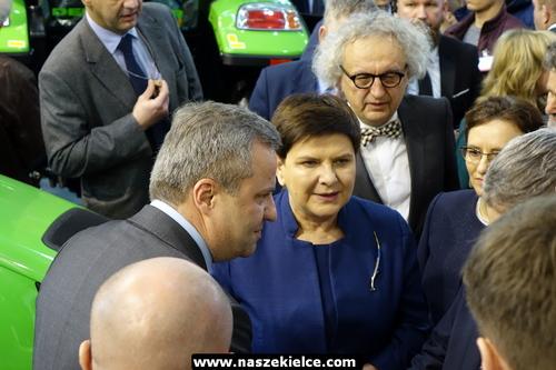 kielce wiadomości Wicepremier Beata Szydło zwiedzała targi Agrotech (ZDJĘCIA)