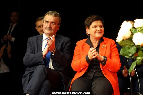 kielce wiadomości Była premier Beata Szydło w Kielcach: Poparła Wojciecha Lubawskiego (ZDJĘCIA,WIDEO)