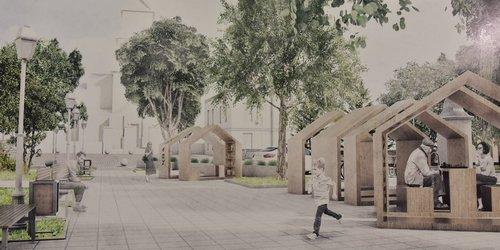 kielce wiadomości Ulica Bodzentyńska w rękach architektów. Zmieni się nie do poznania (WIZUALIZACJE)