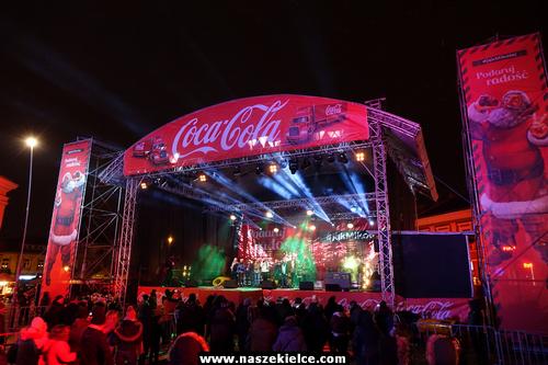 kielce wiadomości Coca Cola opanowała kielecki Rynek (ZDJĘCIA,WIDEO)