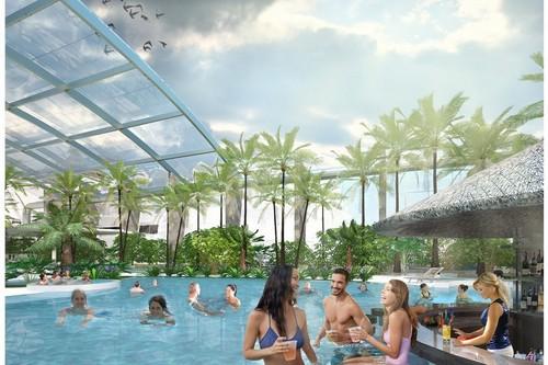 kielce wiadomości Prawie 4 miliony dofinansowania dla powstających Basenów Tropikalnych Binkowski Resort