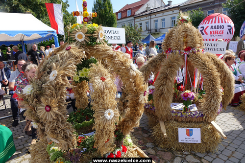 kielce wiadomości Podziękowaliśmy świętokrzyskim rolnikom. Świętokrzyskie Dożynki Wojewódzkie z wieloma atrakcjami (ZDJĘCIA,WIDEO)