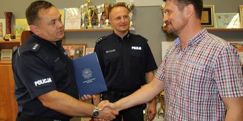 kielce wiadomości Dyrektor szkoły na Ślichowicach ujął przestępcę
