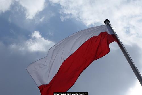 kielce wiadomości Biało-czerwona powiewa nad Kielcami (ZDJĘCIA,WIDEO)