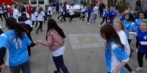 kielce wiadomości Ekonomik z Langiewicza tańczył w centrum Kielc (ZDJĘCIA,WIDEO)