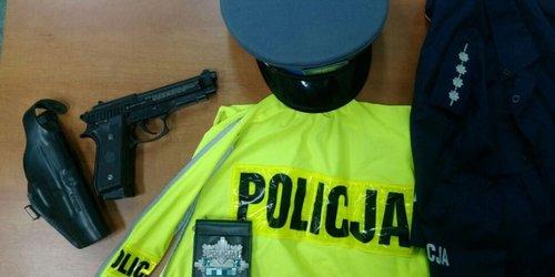 kielce wiadomości Kielczanin podszywał się pod policjanta