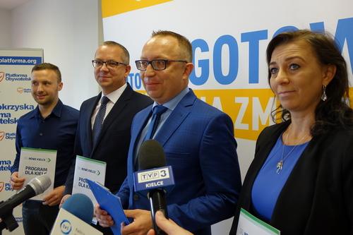 kielce wiadomości Artur Gierada oskarża prezydenta Kielc o kopiowanie swojego programu (WIDEO)