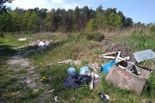 kielce wiadomości Gmina Chęciny walczy z dzikimi wysypiskami