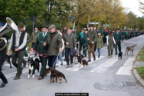 kielce wiadomości Myśliwi z regionu świętowali w Kielcach (ZDJĘCIA)