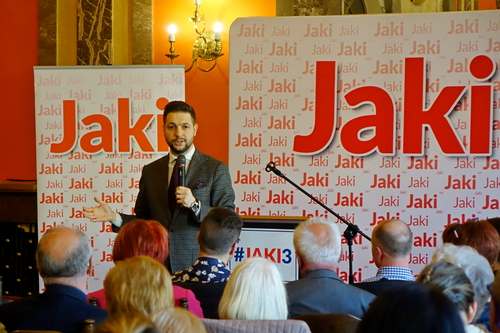 kielce wiadomości Patryk Jaki w Kielcach: Rząd PiS nie bierze pod uwagę wypłaty żydowskich roszczeń
