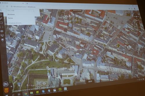 kielce wiadomości Powstała ciekawa mapa Kielc. To nie tylko trójwymiarowy model