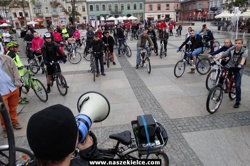kielce wiadomości Ulicami miasta przejedzie Kielecka Masa Krytyczna