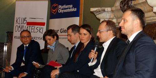 kielce wiadomości Klub Obywatelski debatował w Kielcach (WIDEO)