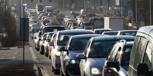 kielce wiadomości Kolizja na wiadukcie zablokowała Krakowską (ZDJĘCIA,WIDEO)