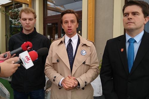 """kielce wiadomości Krzysztof Bosak """"jedynką"""" Konfederacji w województwie świętokrzyskim"""