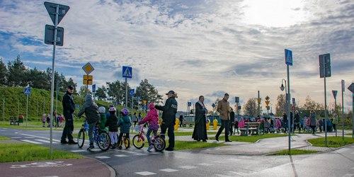 kielce wiadomości W Nowinach otworzyli miasteczko ruchu drogowego