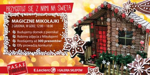 kielce wiadomości Magiczne Mikołajki w Pasażu Świętokrzyskim