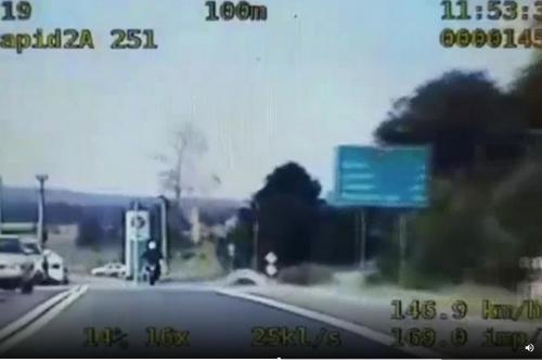 kielce wiadomości Motocyklem BMW pędził przez Górno ponad 140 km/h