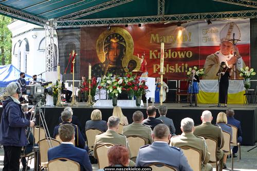 kielce wiadomości Na zawsze w sercach. Polowa Msza Święta w intencji Jana Pawła II w Kościele Garnizonowym (ZDJĘCIA,WIDEO)