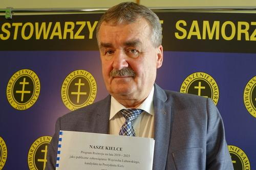 """kielce wiadomości """"Nasze Kielce"""" czyli nowy program Wojciecha Lubawskiego (WIDEO)"""