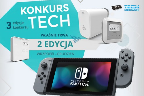 kielce wiadomości Nowa edycja konkursu firmy TECH Sterowniki – walcz o konsolę Nintendo Switch