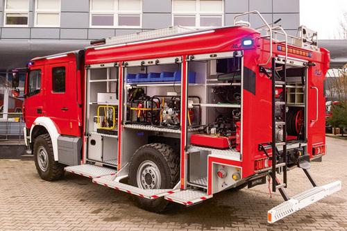 kielce wiadomości Nowy wóz ratowniczy za prawie milion dla strażaków z Wolicy
