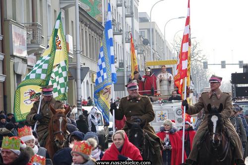 kielce wiadomości Orszak Trzech Króli przeszedł przez Kielce (ZDJĘCIA,WIDEO)