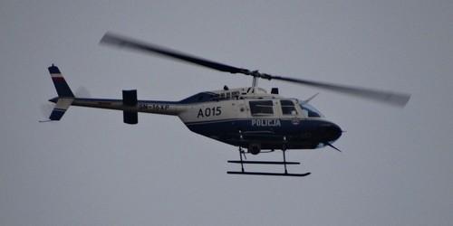 kielce wiadomości Policyjny śmigłowiec brał udział w poszukiwaniach zaginionej 64-latki