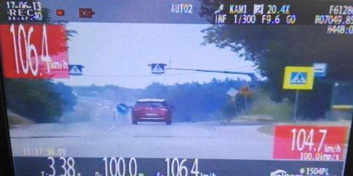 kielce wiadomości Kierowcy przekraczają prędkość i tracą prawa jazdy. Kolejni uk