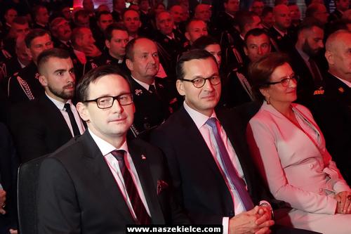 kielce wiadomości Premier gościem strażackiej gali w Targach Kielce (ZDJĘCIA)