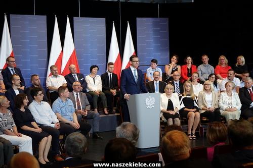 kielce wiadomości Premier Mateusz Morawiecki z wizytą w regionie świętokrzyskim (ZDJĘCIA,WIDEO)