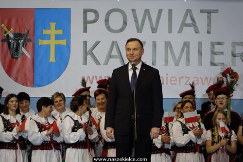 kielce wiadomości Prezydent Andrzej Duda odwiedził Kazimierzę Wielką (ZDJĘCIA)