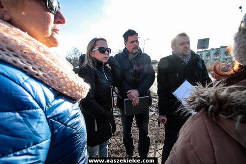 kielce wiadomości Pierwsza budowa w Kielcach  na podstawie specustawy i pierwszy konflikt (ZDJĘCIA,WIDEO)