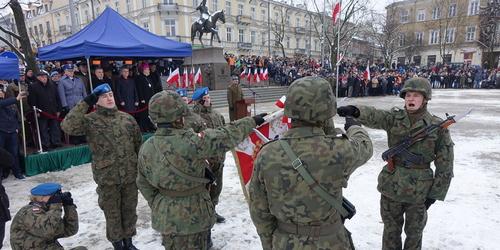 kielce wiadomości Przysięgali bronić naszej wolności. Ślubowanie elewów w Kielcach (ZDJĘCIA,WIDEO)