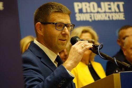 kielce wiadomości Robert Kaszuba zrezygnował z bycia prezesem Projektu Świętokrzyskie
