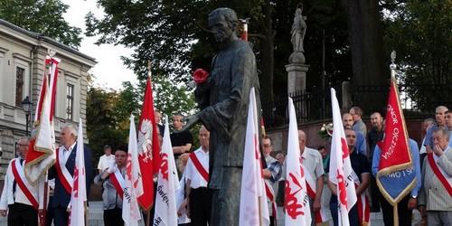 kielce wiadomości Solidarność świętowała rocznicę porozumień sierpniowych (ZDJĘCIA)