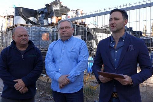 kielce wiadomości Kto zapłaci za likwidację składowiska chemikaliów na Krakowskiej? (WIDEO)