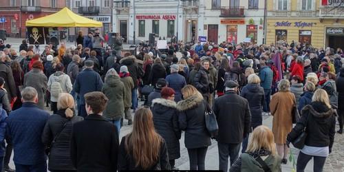 kielce wiadomości Słaba płeć?! Kobiety strajkowały w centrum Kielc (ZDJĘCIA,WIDE