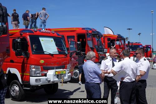 kielce wiadomości O pożarnictwie w Targach Kielce (ZDJĘCIA)