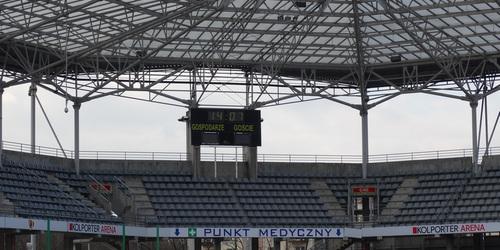 kielce wiadomości Na Kolporter Arenie stanie telebim bo UEFA się domaga